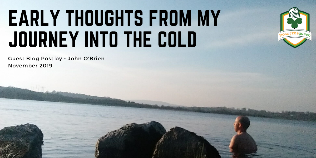 Early thoughts from my journey into the cold – John O'Brien