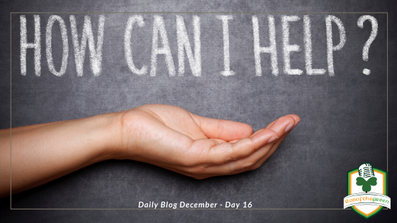 How can I help? – Day 16