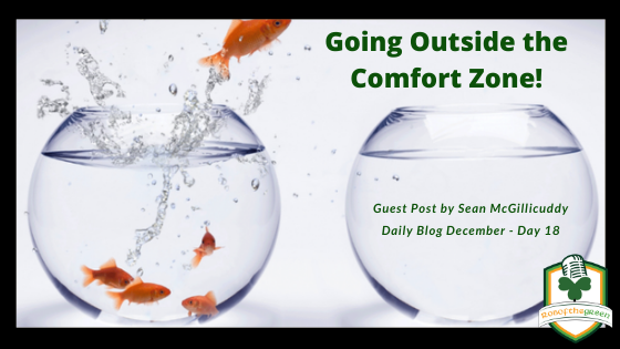Going Outside the Comfort Zone – Day 18 – Sean McGillicuddy