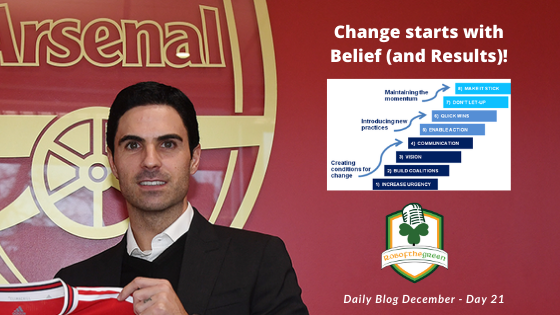 Change starts with belief (and results)!