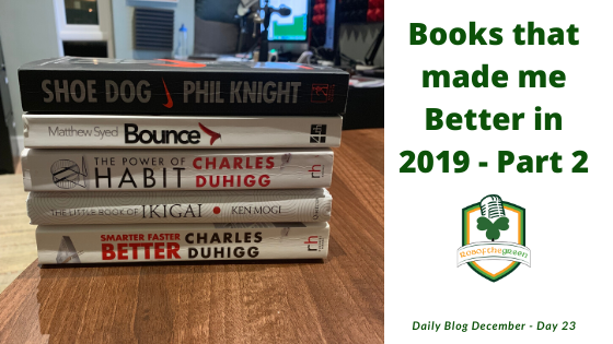 Books that made me Better 2019 – Part 2 – Day 23